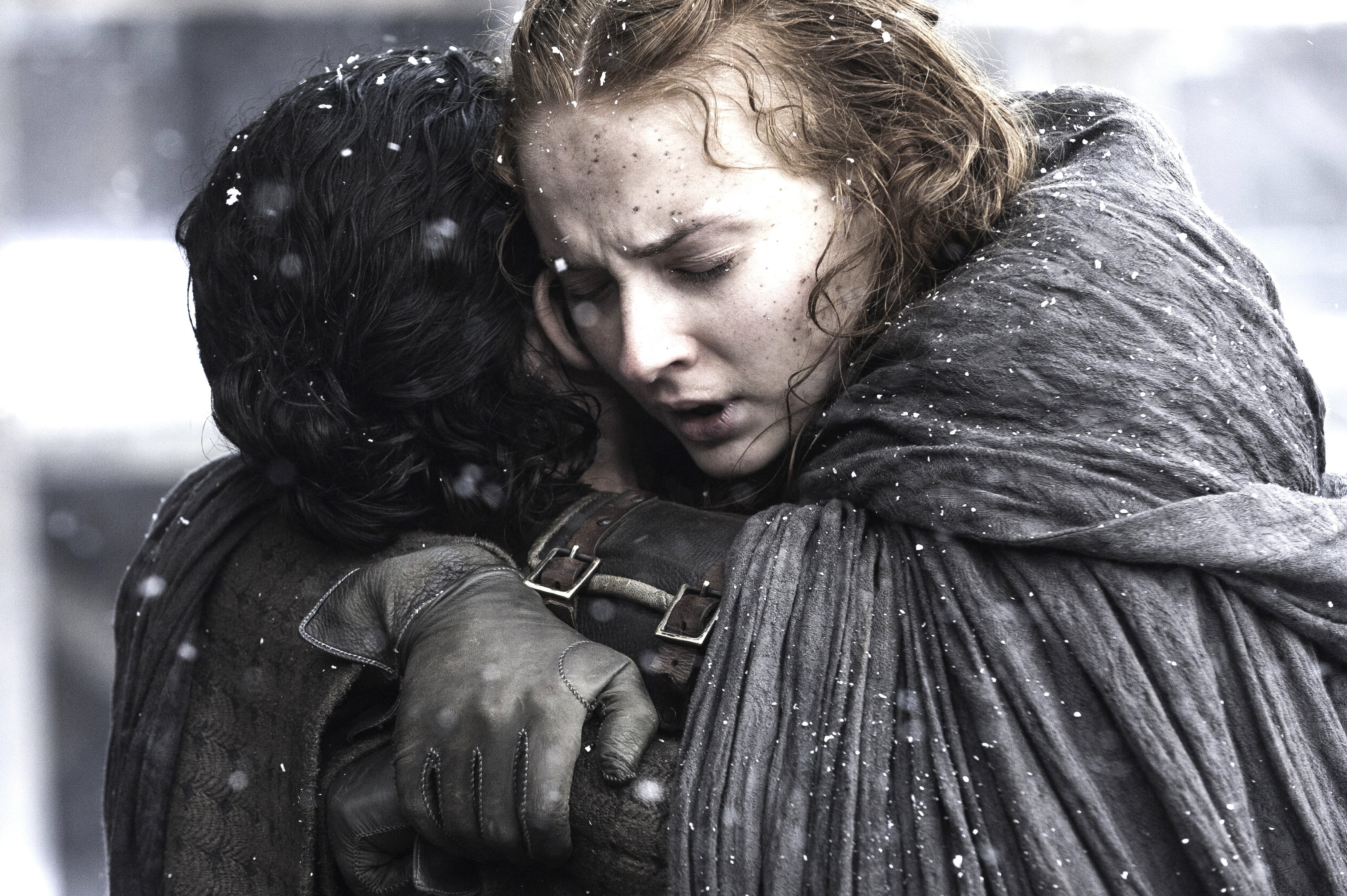 Res: 3156x2100, Arya Stark and Jon Snow HD wallpaper
