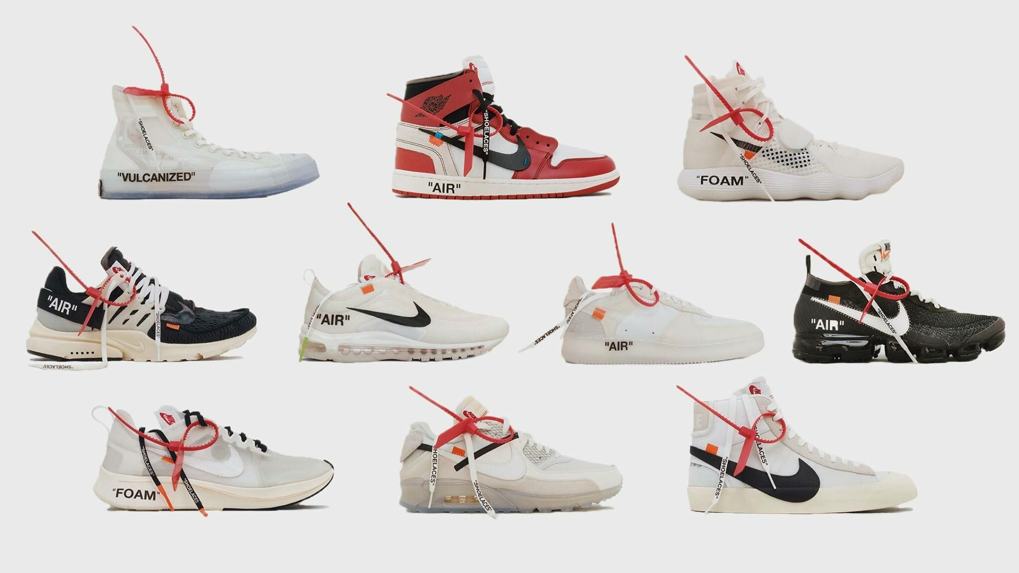 """Res: 2048x1152, Full List Of Stockists For """"The Ten"""" Off-White x Nike Collection 