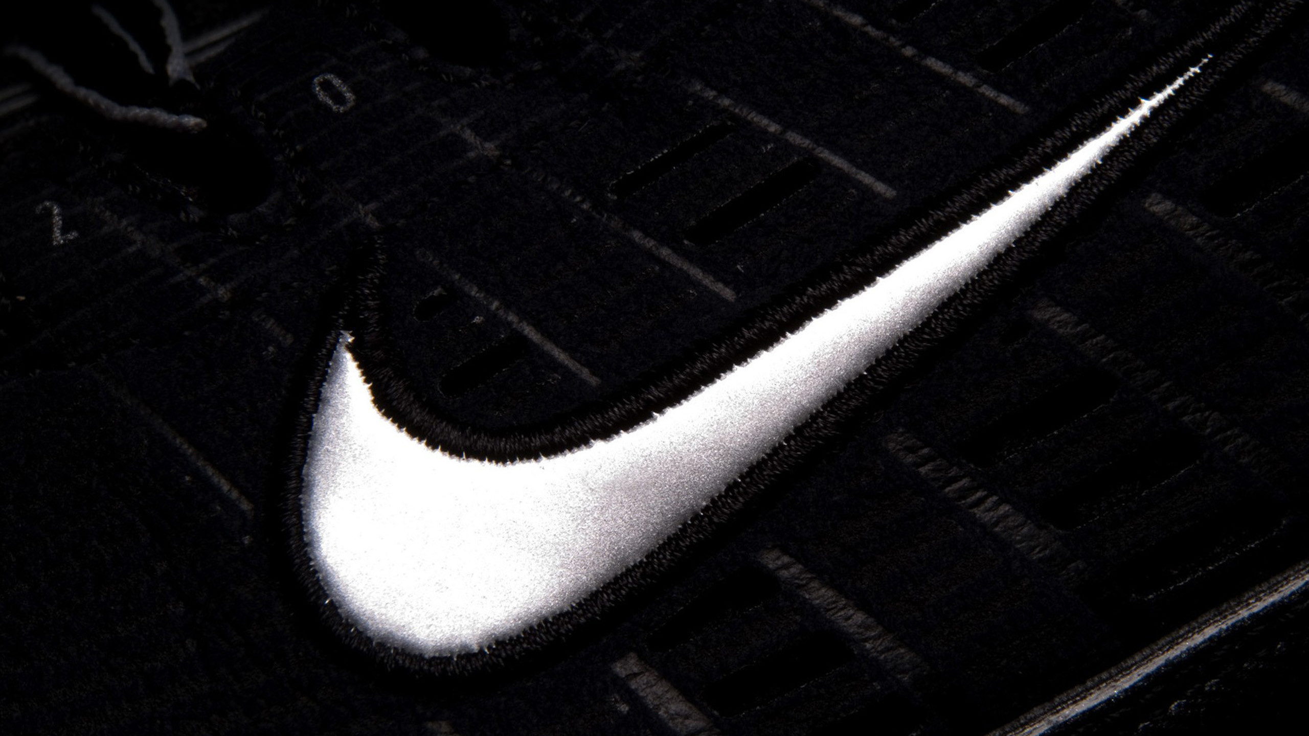 Res: 2560x1440, Nike Black HD Images.