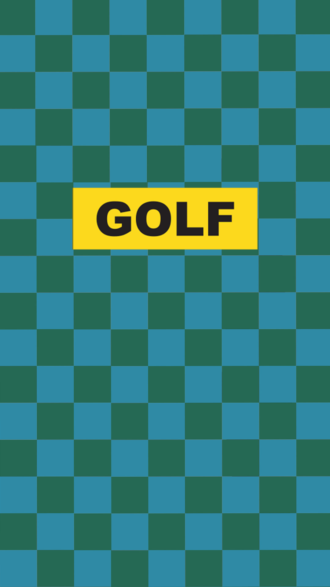Res: 1080x1920, Made a phone wallpaper out of the yellow golf box logo. feel free to use ...