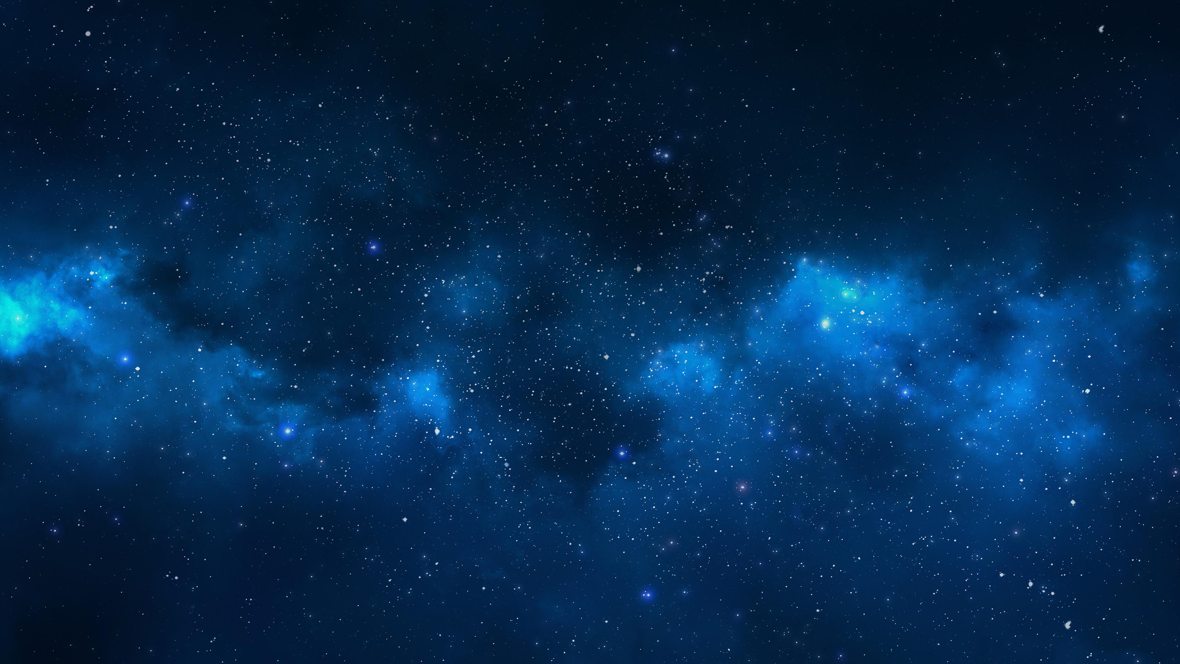 Res: 3840x2160, Stars, Galaxy, 4K