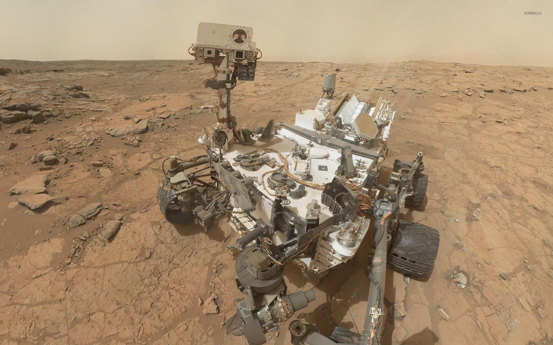 Res: 1920x1200, Curiosity on Mars wallpaper