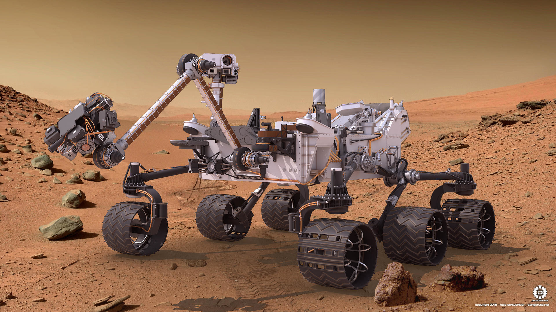 Res: 1920x1080, Mars Rover Pictures Luxe Mars Science Lab Curiosity Rover Render 03 By  Dangeruss On