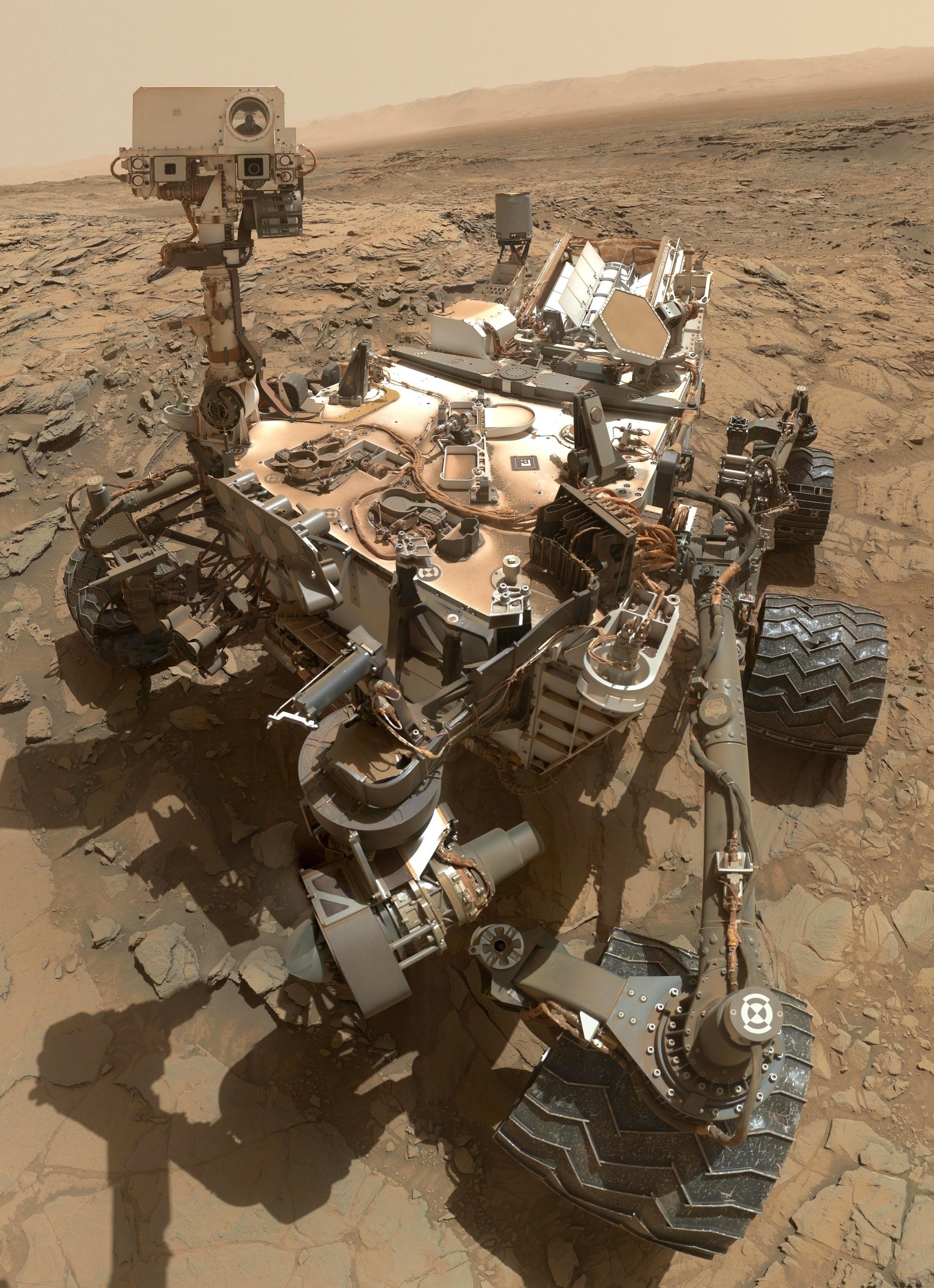 Res: 2031x2800, Curiosity, Cosmos, Vehicle, Mars Rover, high angle view, sea
