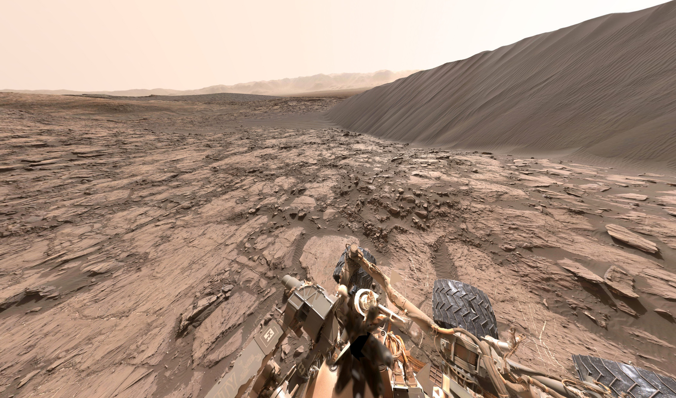 Res: 2247x1325, Explore Mars with 360-degree image shot by NASA Curiosity Rover: Digital  Photography Review