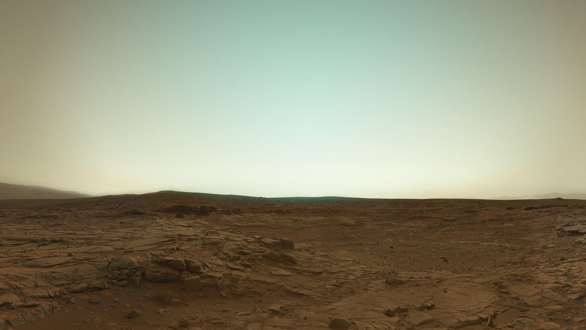 Res: 1920x1080, Mars in true color from the rover Curiosity