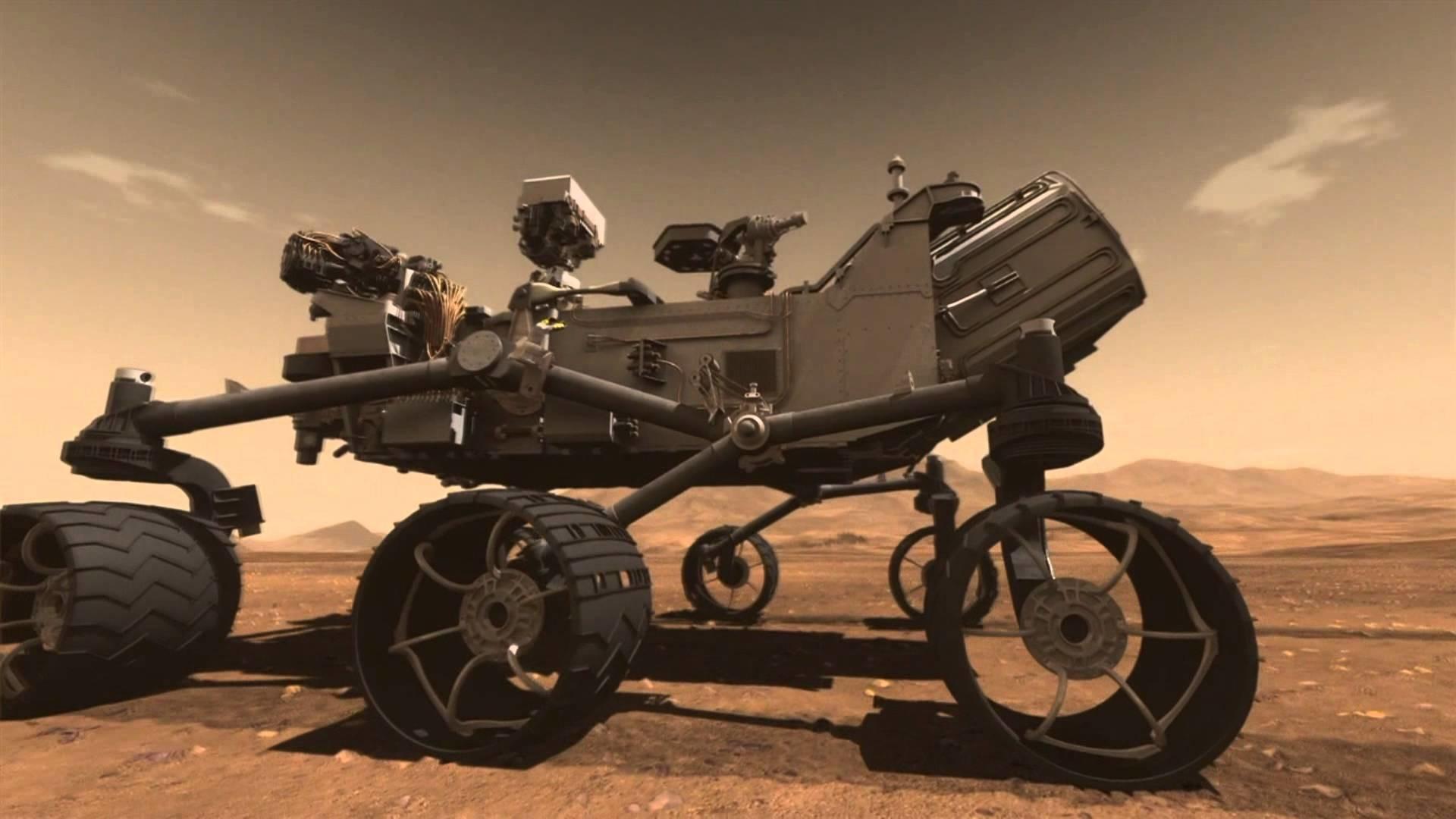 Res: 1920x1080, Mars Curiosity Rover Lands On Mars