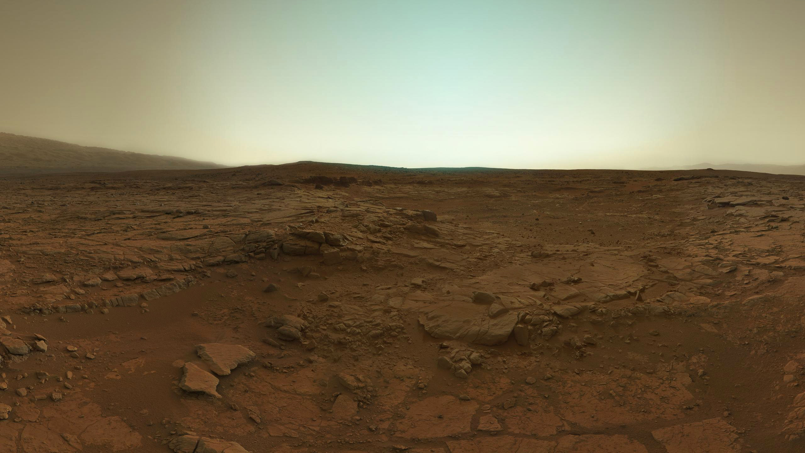 Res: 2560x1440, Space Images | Curiosity Approaching Mars, Artist's Concept