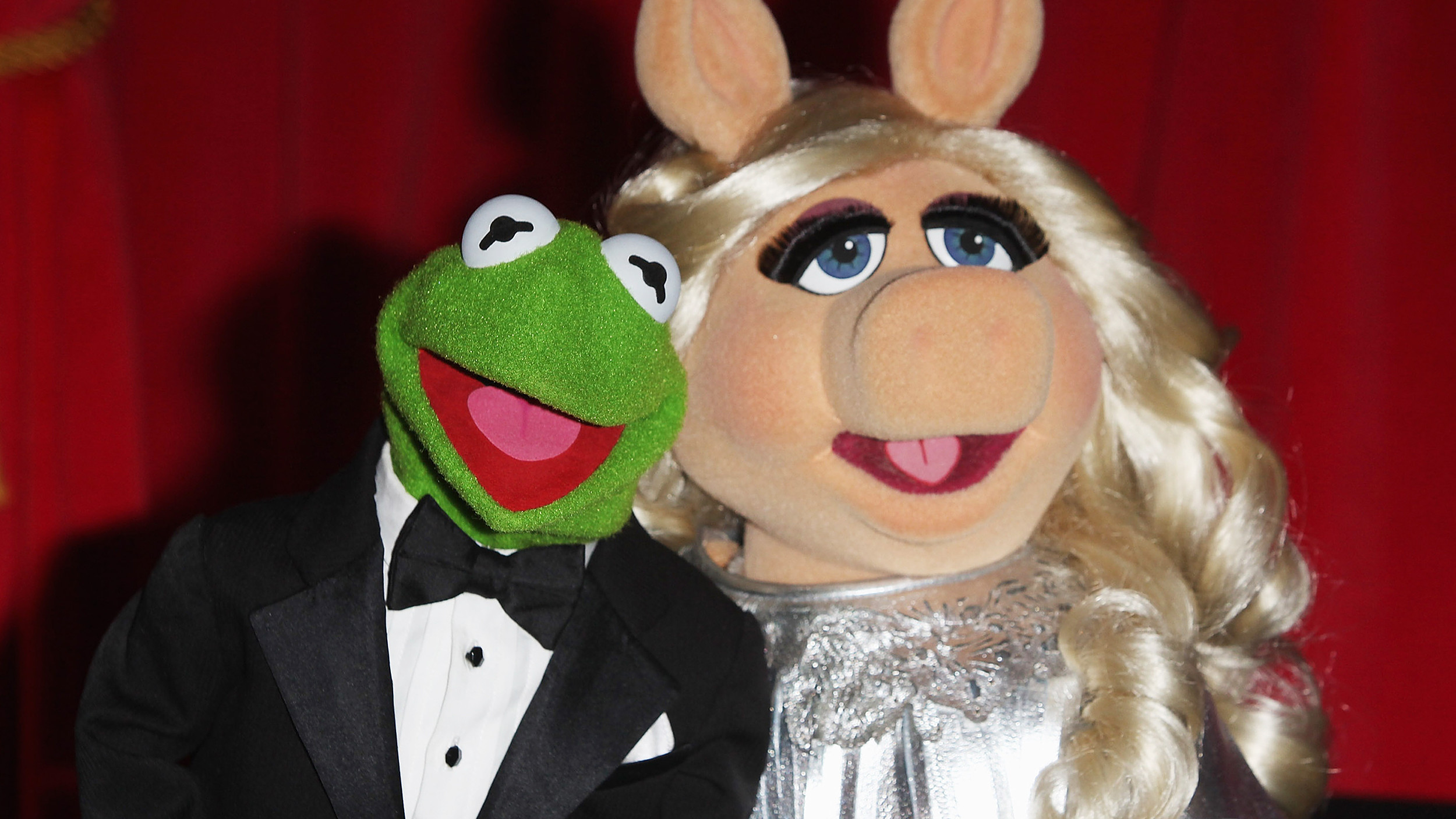 Res: 2500x1407, Kermit the frog and miss piggy - photo#3