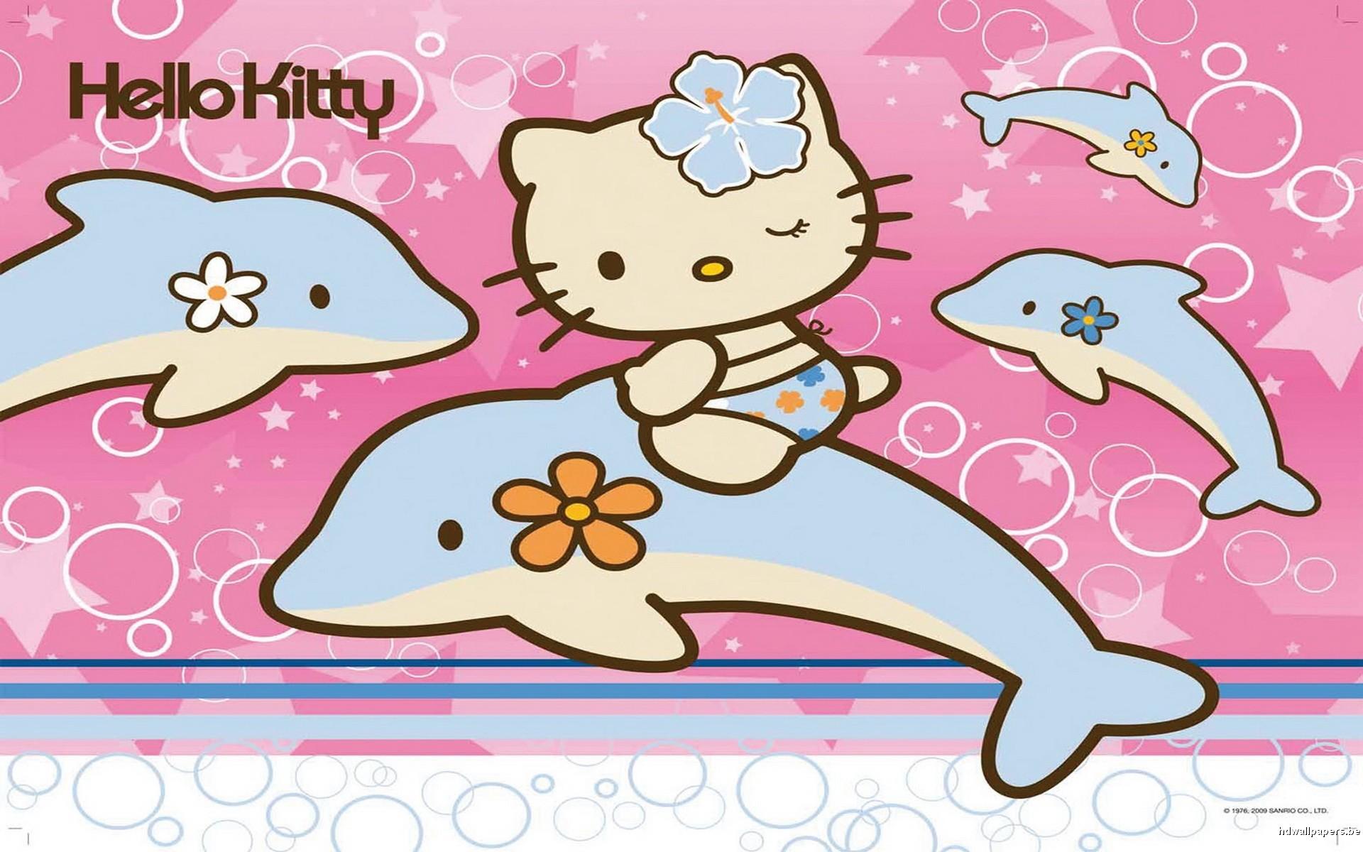 Res: 1920x1200, Hello Kitty Summer Wallpaper