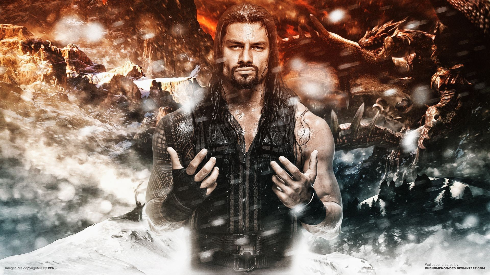 Res: 1920x1080, Roman Reigns Wallpaper, by Darby Koons