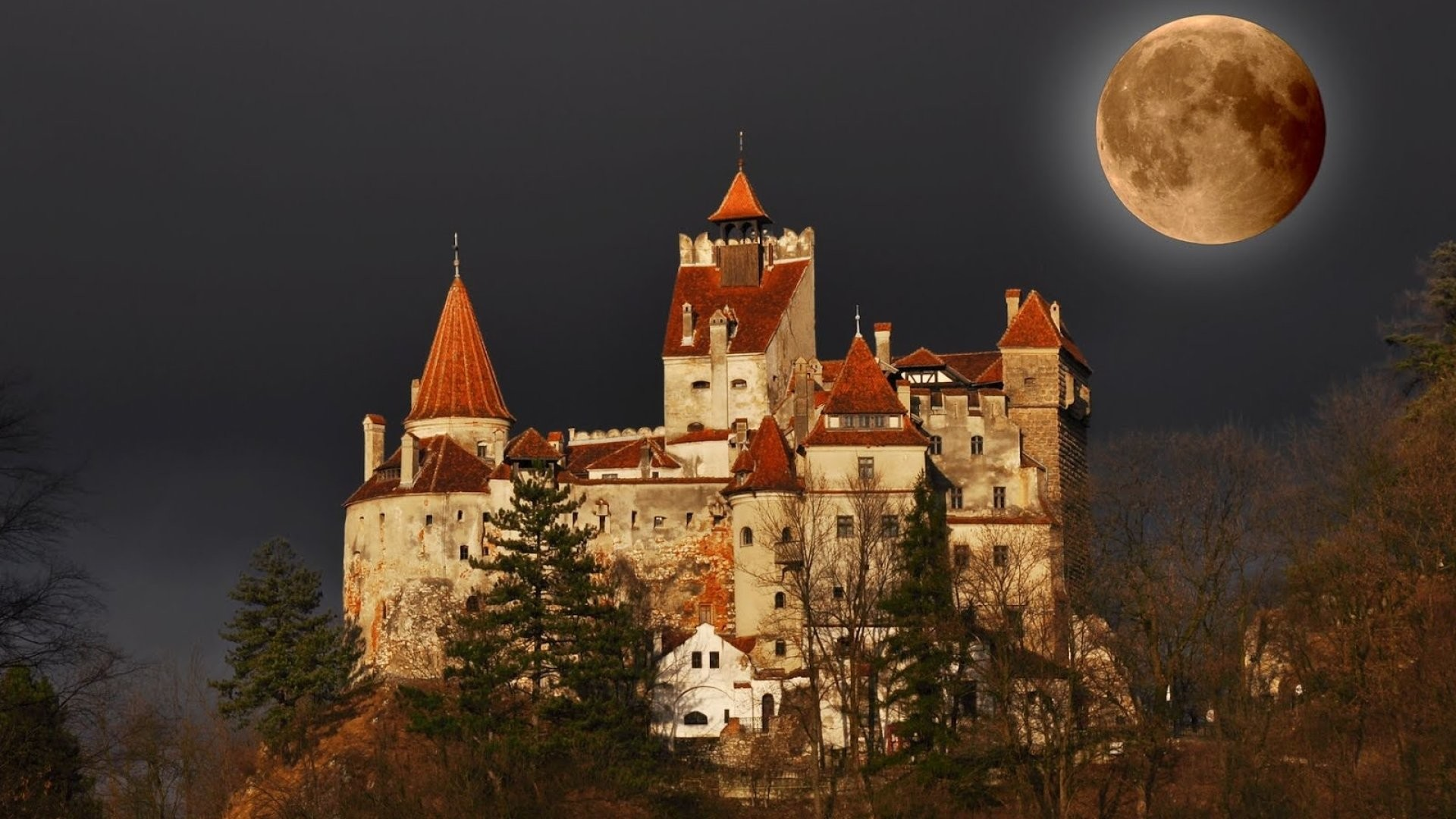 Res: 1920x1080, dracula castle
