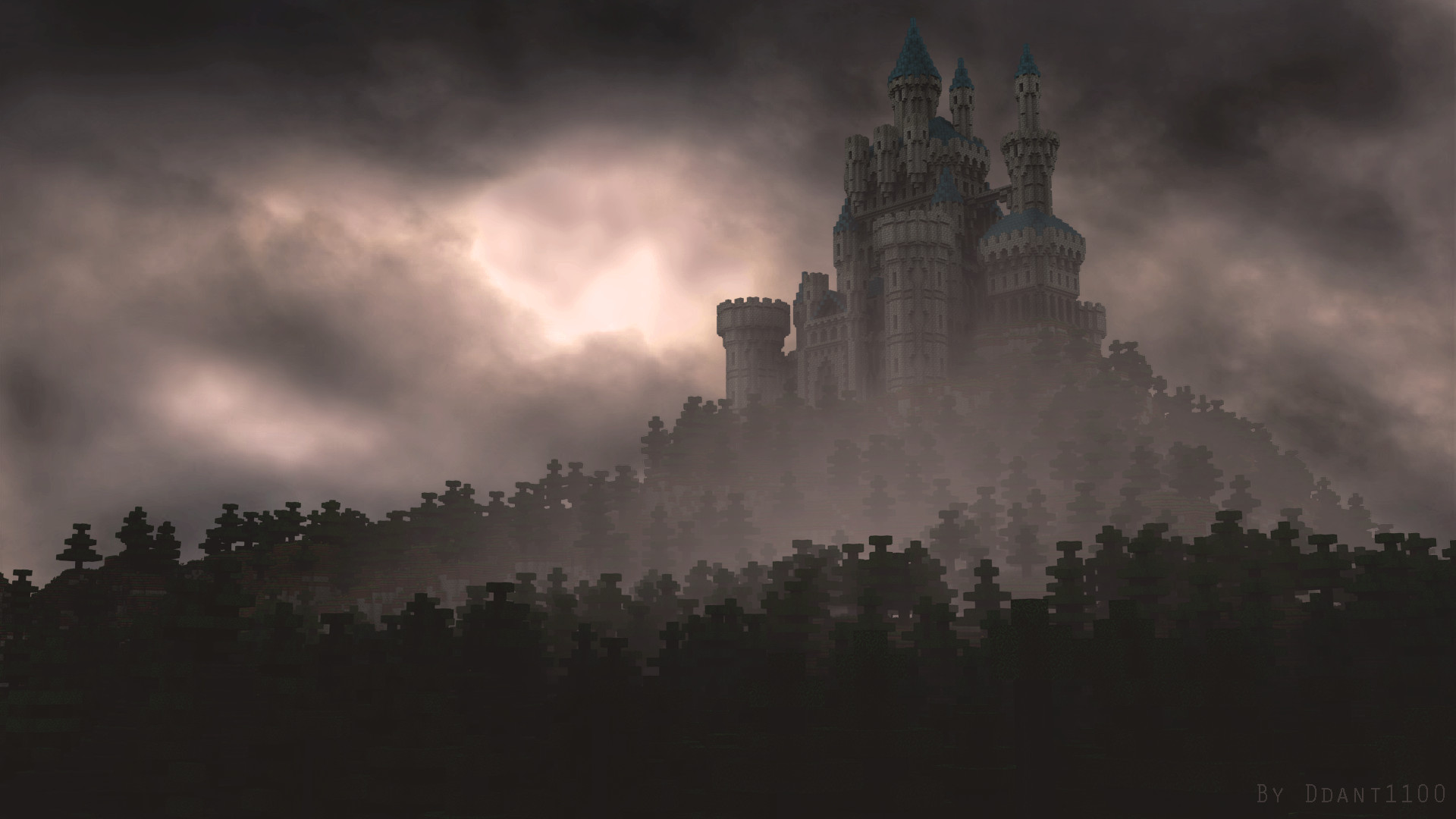 Res: 1920x1080, ... Castle on the hill (Wallpaper Hd) by ddant1100