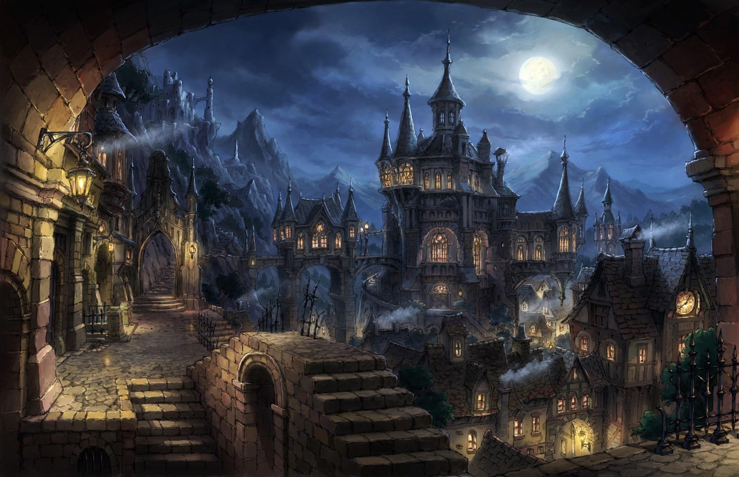 Res: 2481x1600, Palacio dracula npche halloween wallpaper |  | 948321 | WallpaperUP