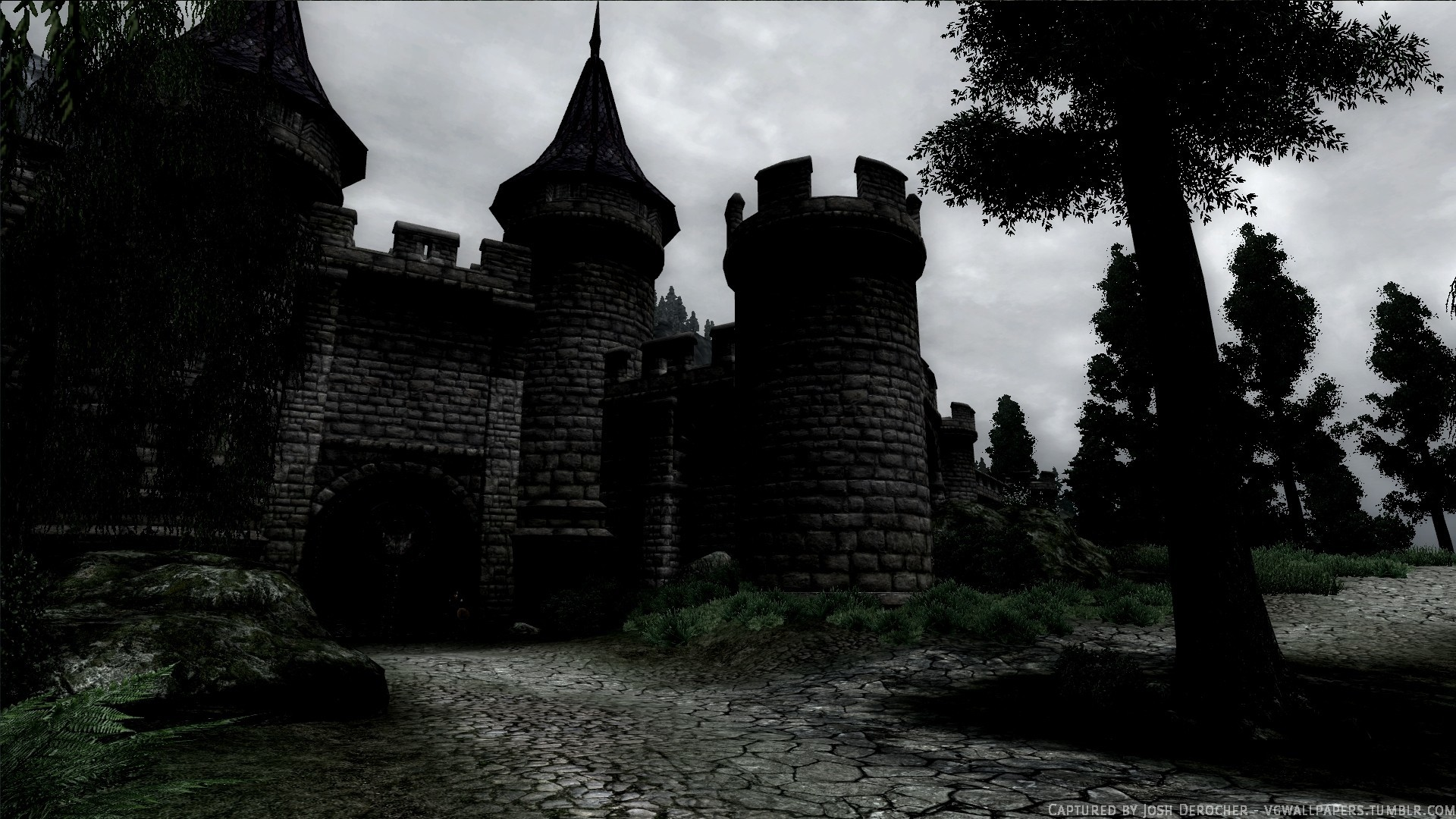 Res: 1920x1080, Dark Castle Backgrounds  px (Mobile and Desktop)