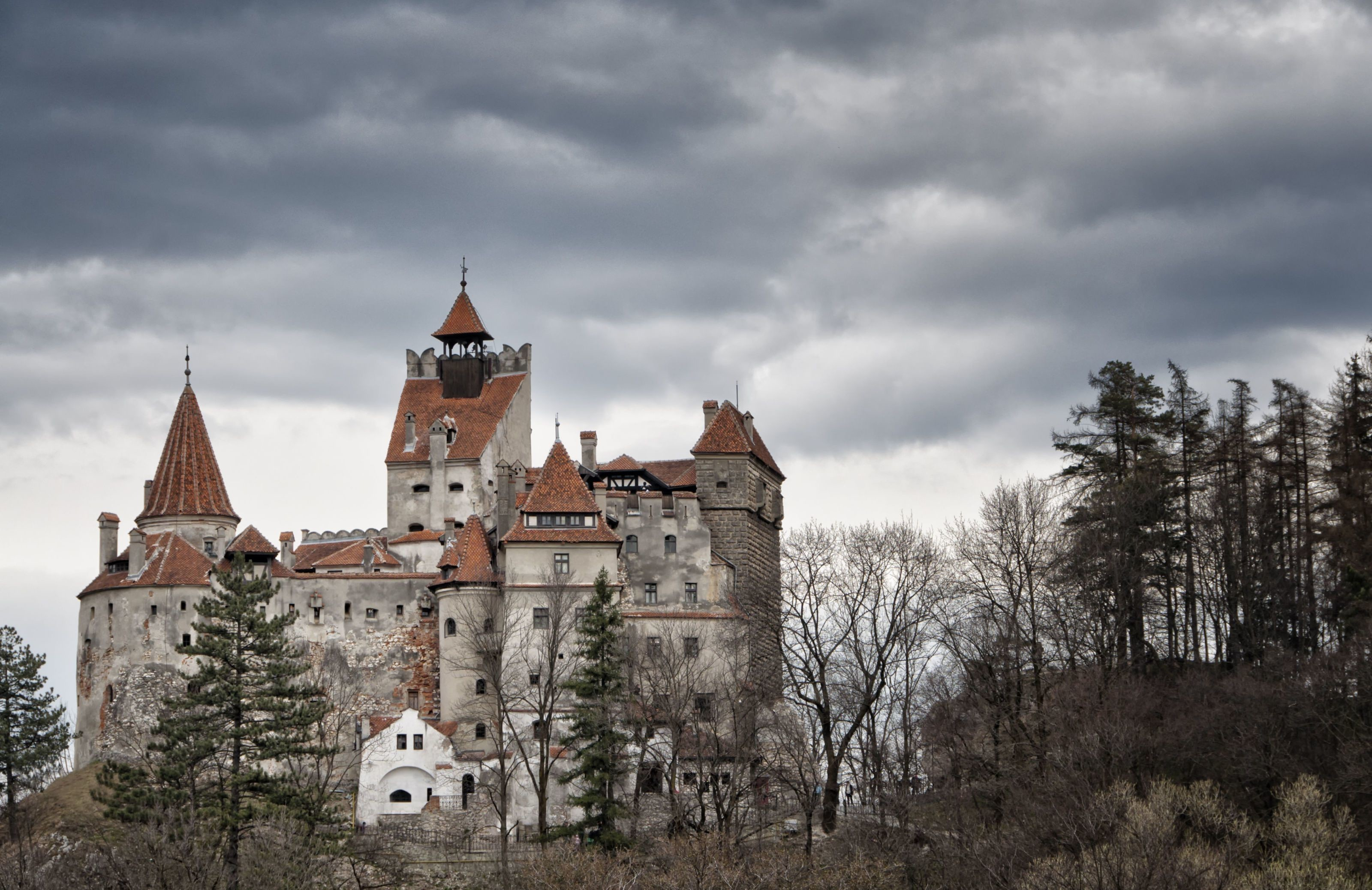 Res: 3200x2077, Man Made Bran Castle Man Made Romania Transylvania Castle .