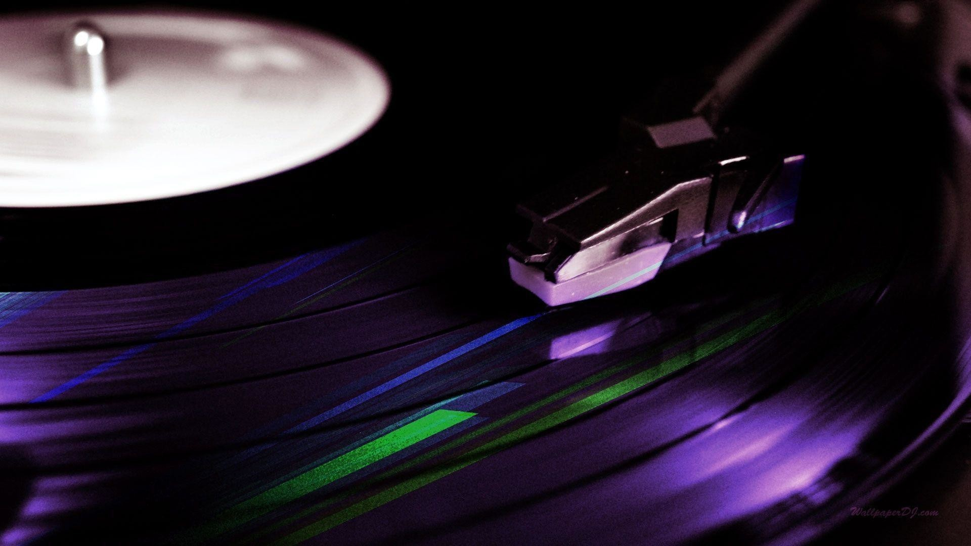Res: 1920x1080,  Wallpapers For > Dj Turntable Wallpaper