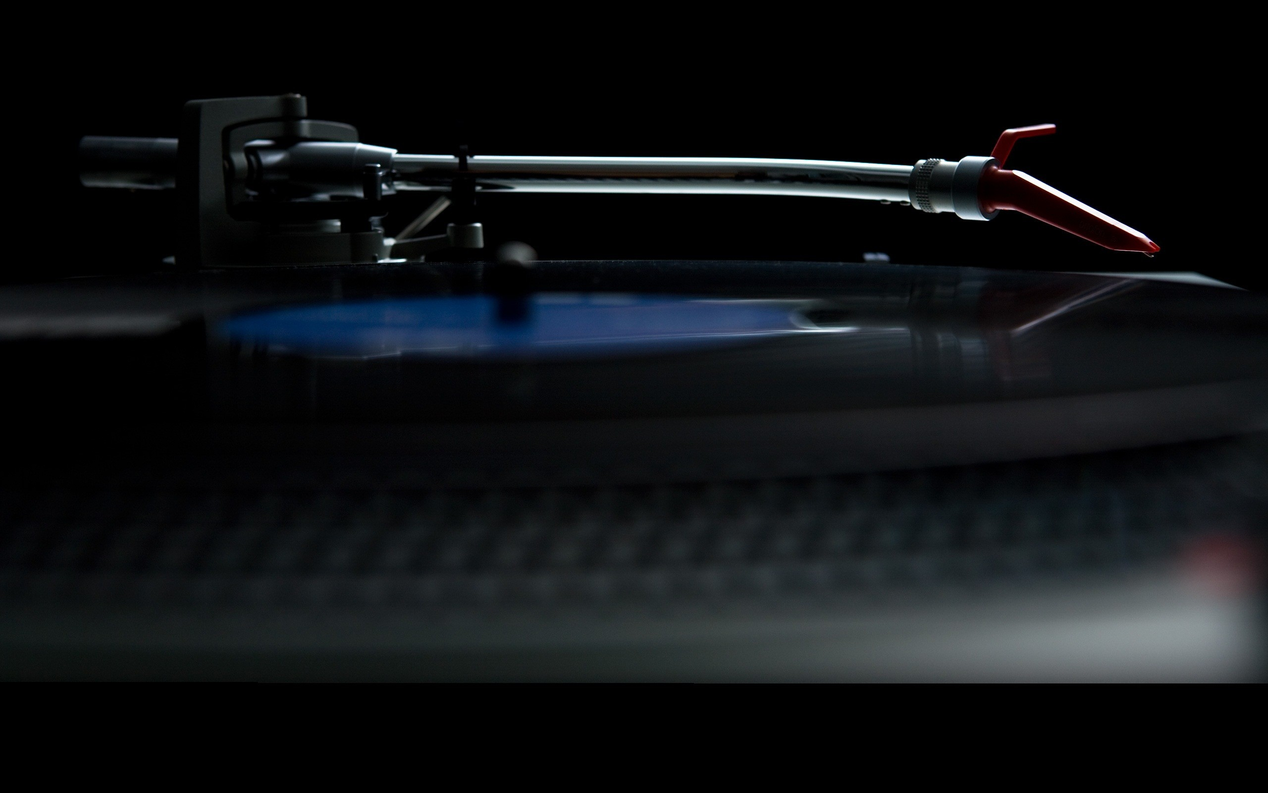 Res: 2560x1600, HD Wallpaper of Black Music Artistic Studio Vinyl Techno Turntables  Technics Dj Fresh New Hd Wallpaper