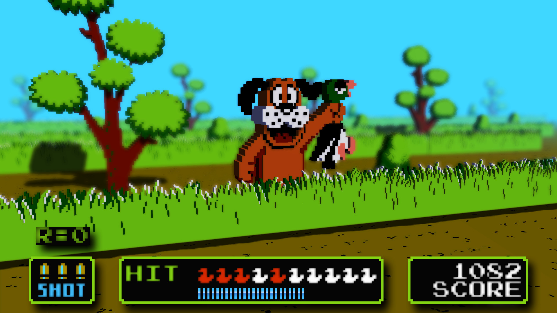 Res: 1920x1080, Duck Hunt in 3D [Wallpaper] - Wallpapers and art - Mine-imator forums