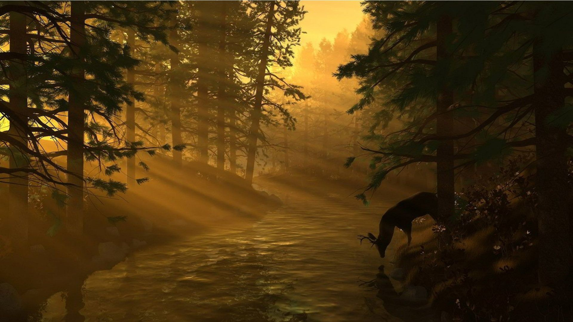 Res: 1920x1080, Deer Hunting Backgrounds - Wallpaper Cave