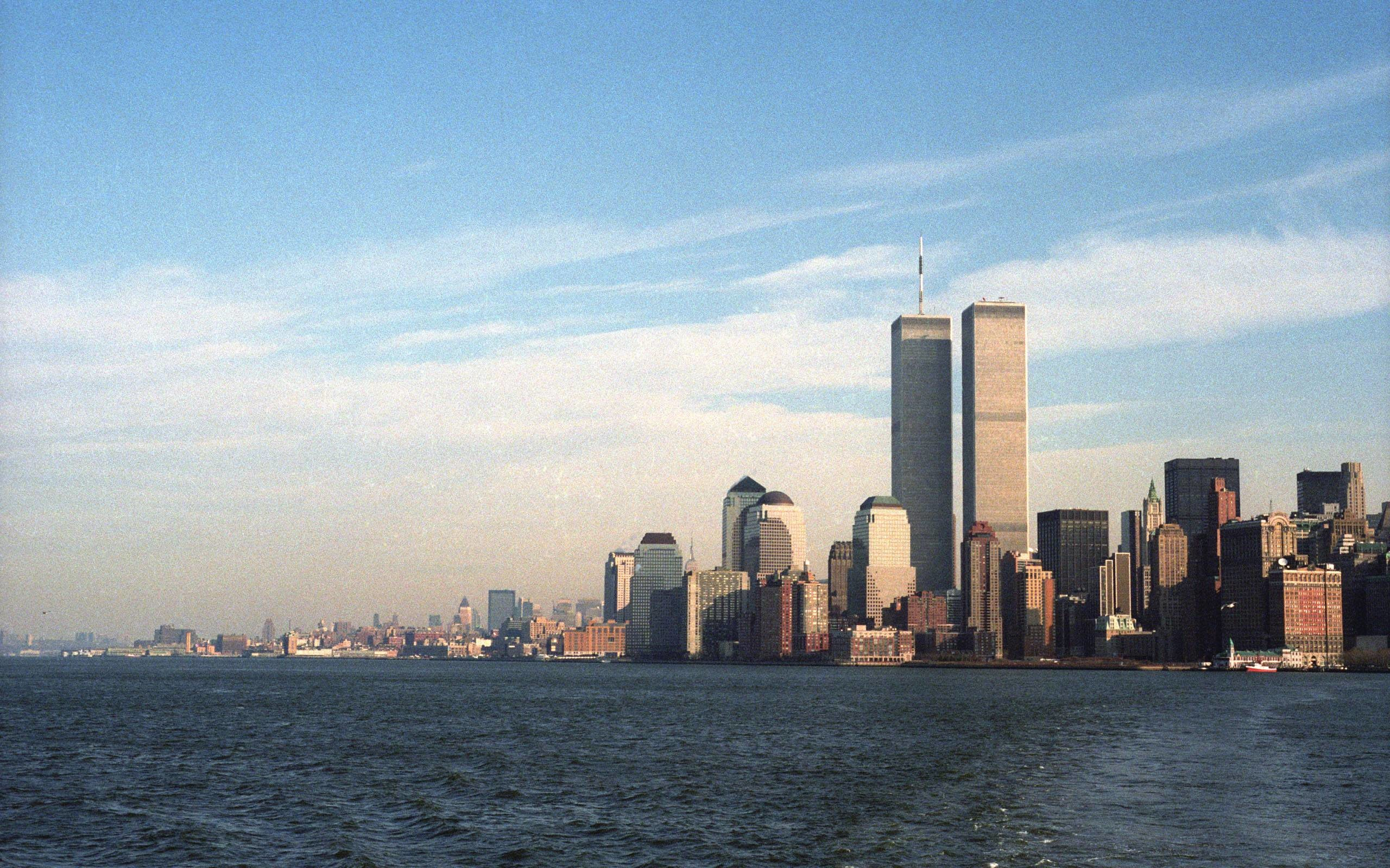 Res: 2560x1600, New York Twin Towers  wallpaper