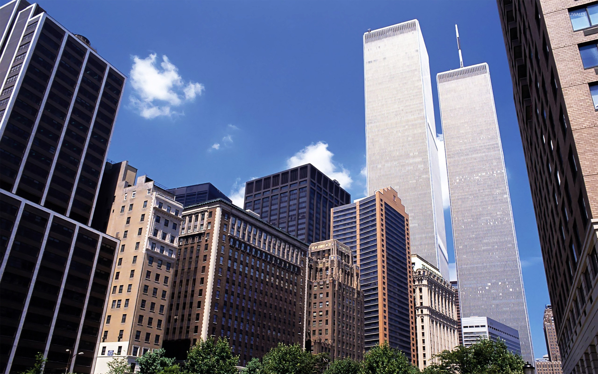 Res: 1920x1200, Twin Towers, New York City wallpaper
