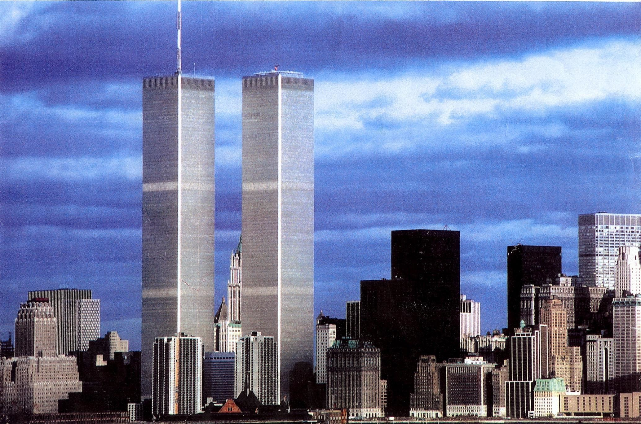 Res: 2068x1369, Twin Towers Before