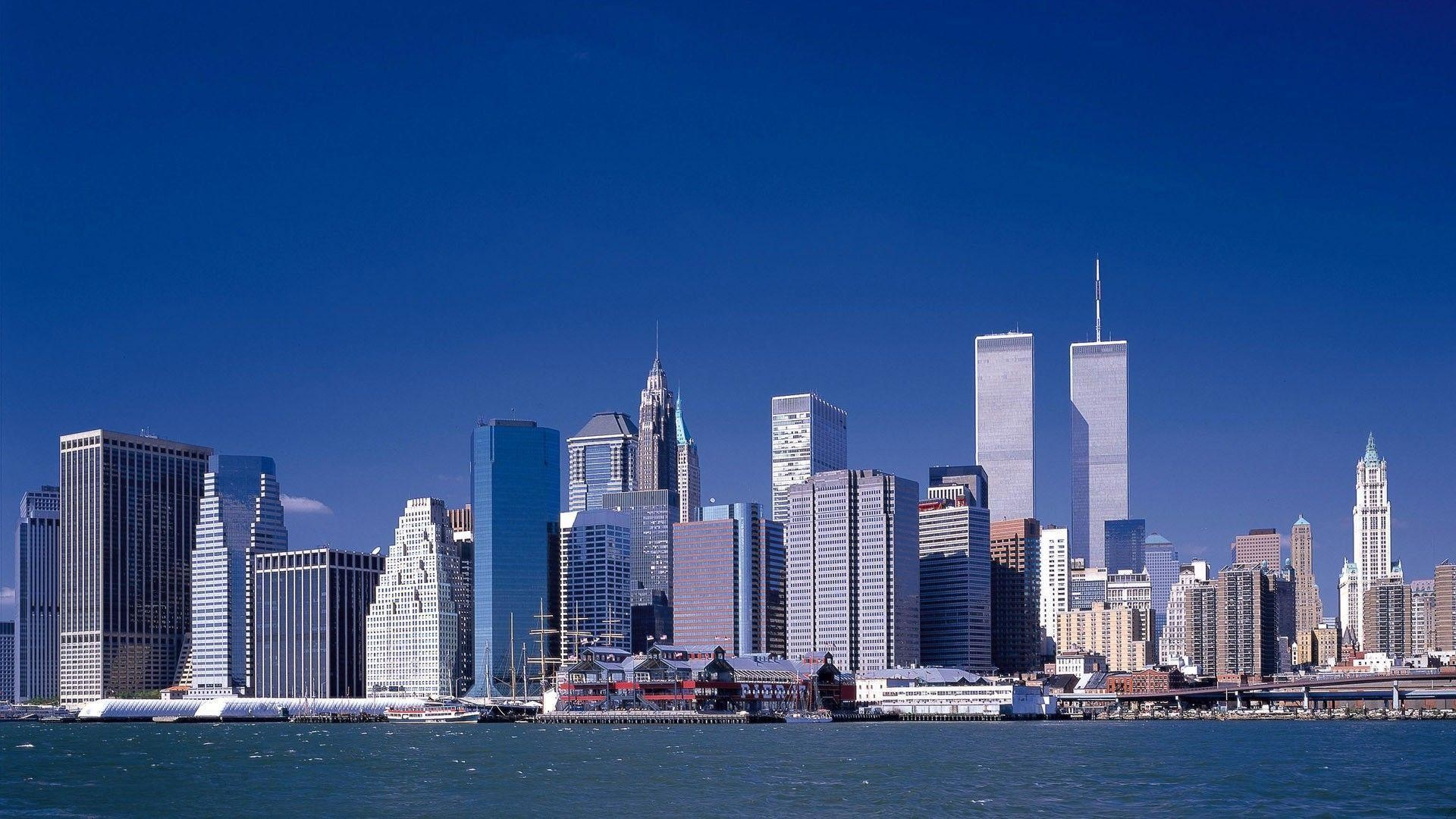 Res: 1920x1080, Wallpapers of the twin towers in New York Picture,New York hd .