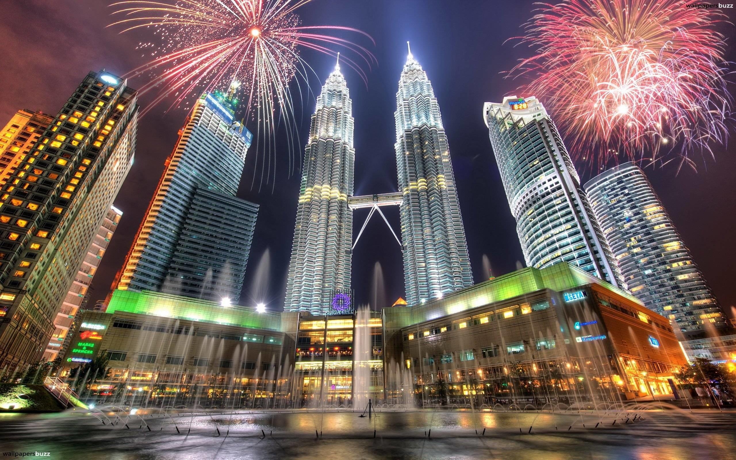 Res: 2560x1600, Petronas Towers HD wallpaper