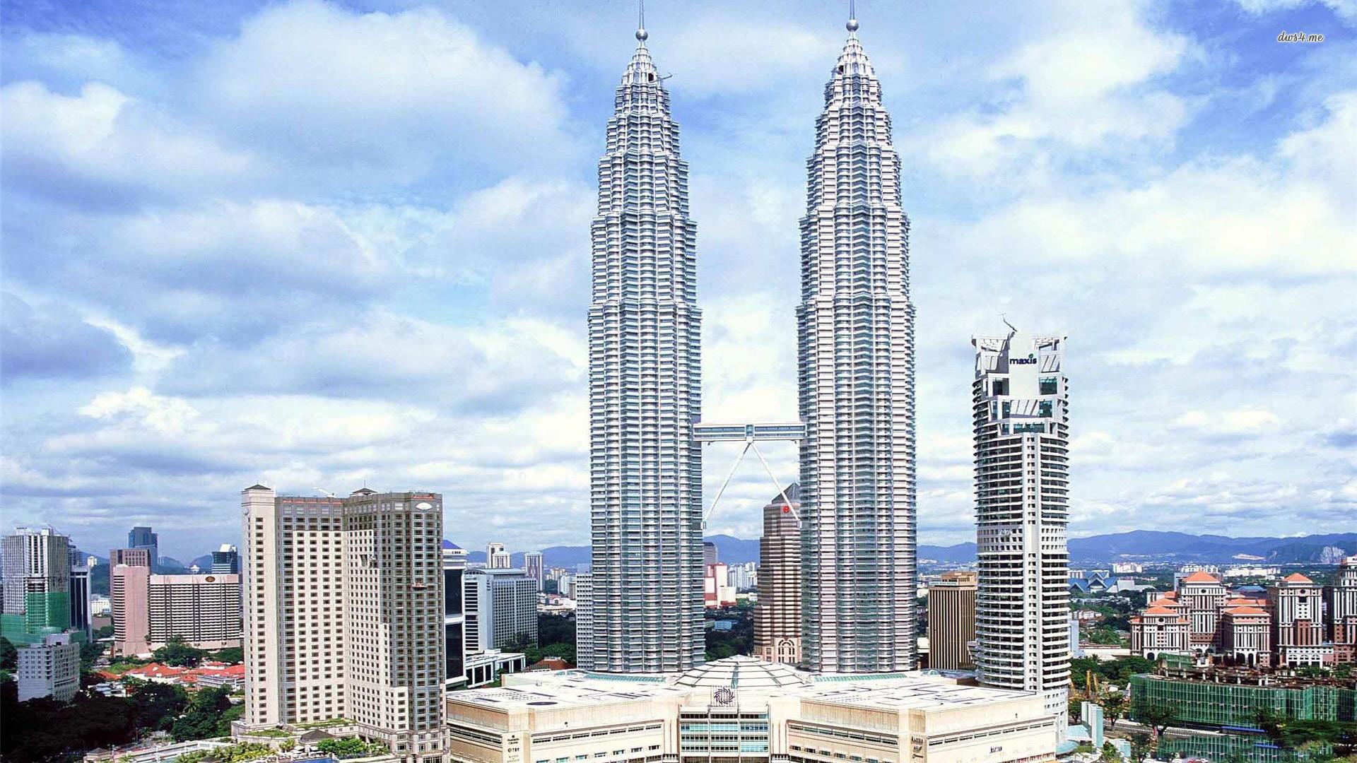Res: 1920x1080, ... Petronas Twin Towers, Kuala Lumpur wallpaper  ...