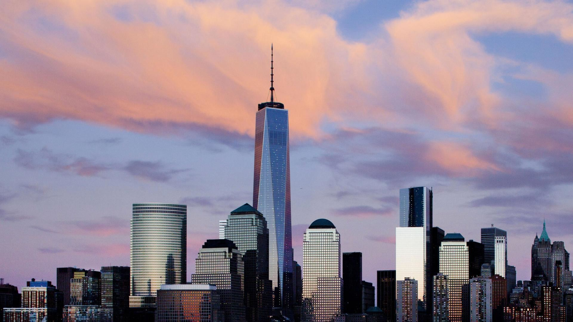 Res: 1920x1080, One World Trade Center Wallpapers