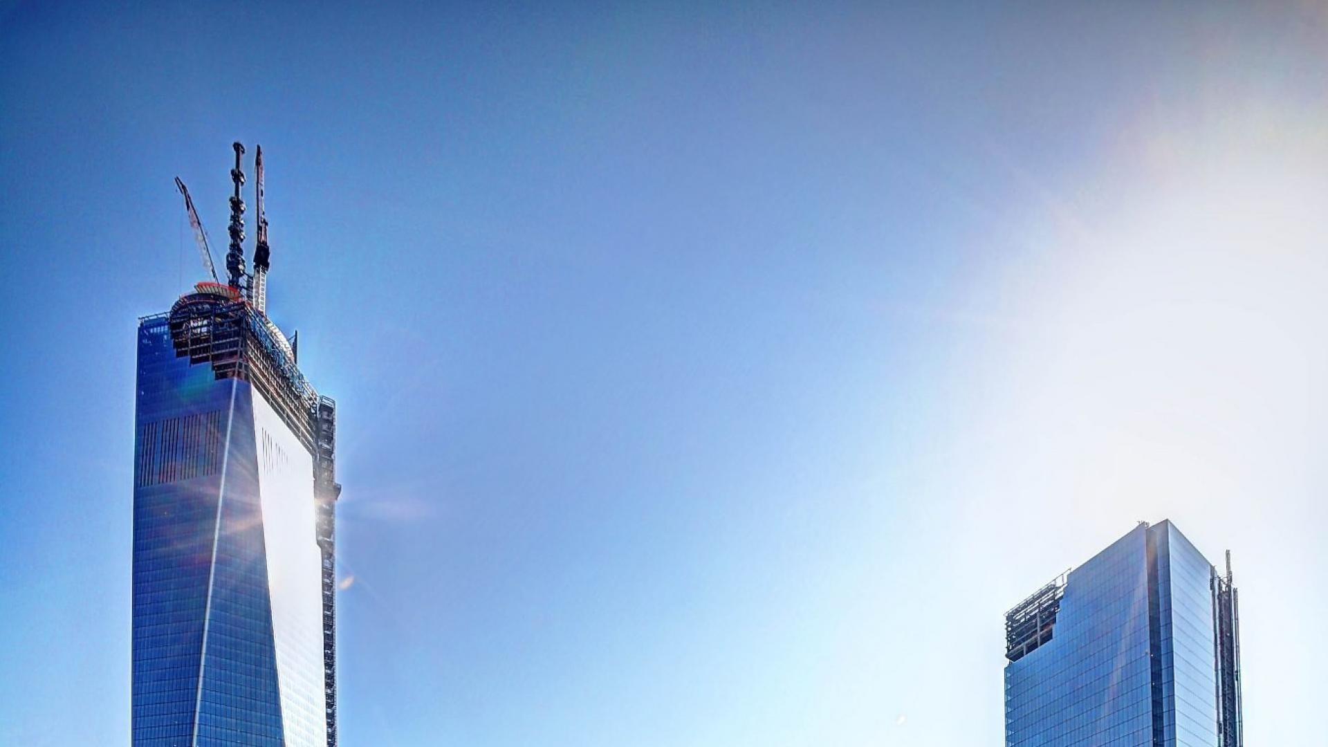 Res: 1920x1080, Skyscrapers freedom tower one world trade center wallpaper 66421