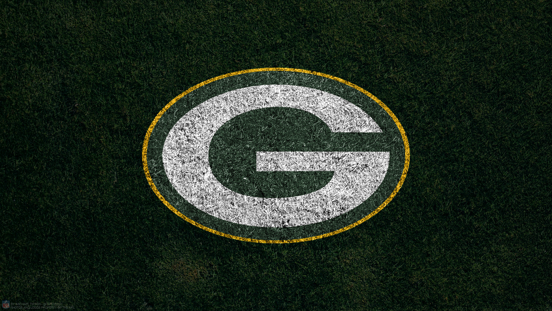 Res: 1920x1080, Green Bay Packers 2017 turf football logo wallpaper free pc desktop computer