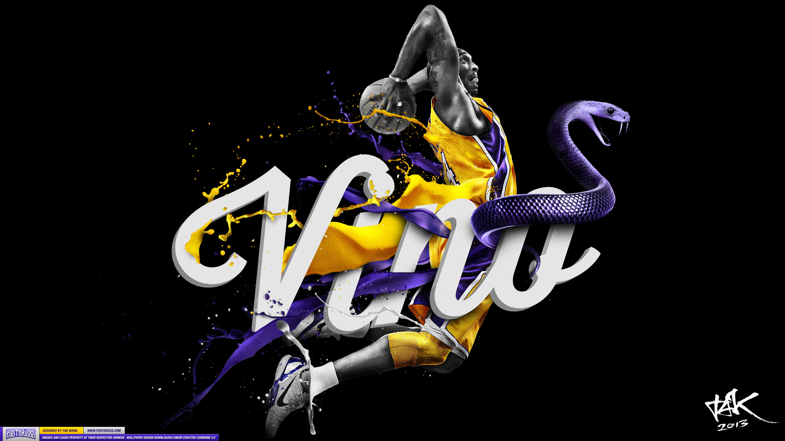 Res: 2560x1440, Kobe Bryant Logo, HD Wallpapers For Free