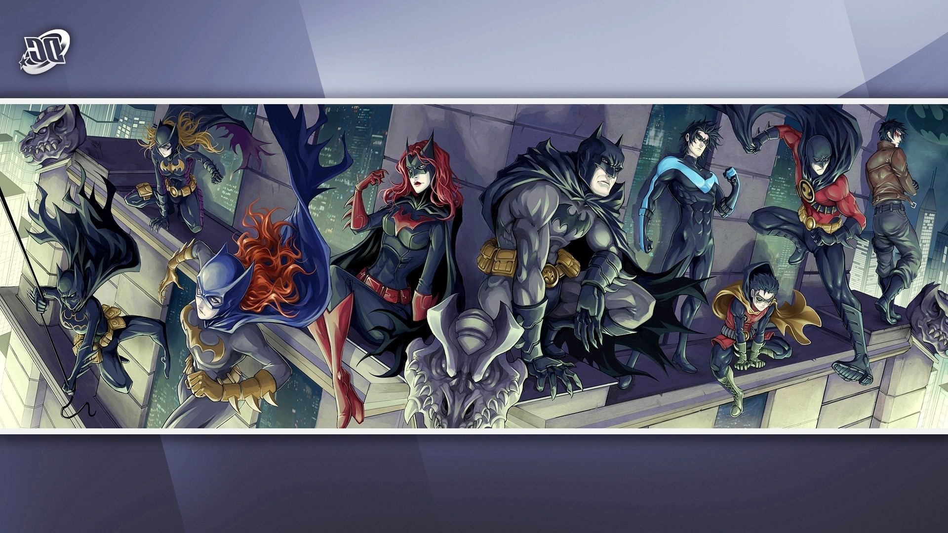 Res: 1920x1080, DC Comics, Batman, Nightwing, Batgirl, Batwoman, Red Robin, Red Hood, Robin  III Wallpapers HD / Desktop and Mobile Backgrounds