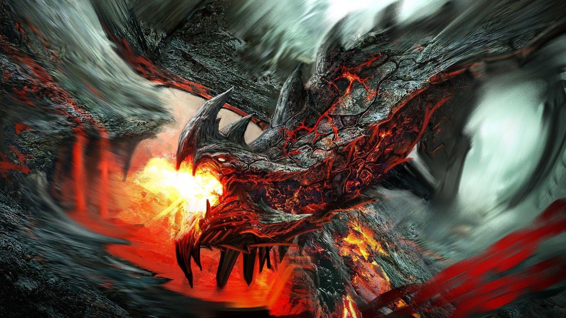 Res: 1920x1080, Dragon wallpaper HD