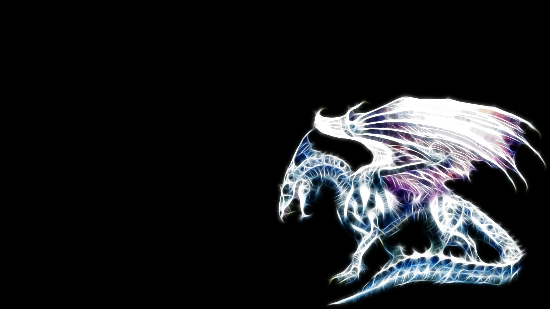 Res: 1920x1080, Dragon Background