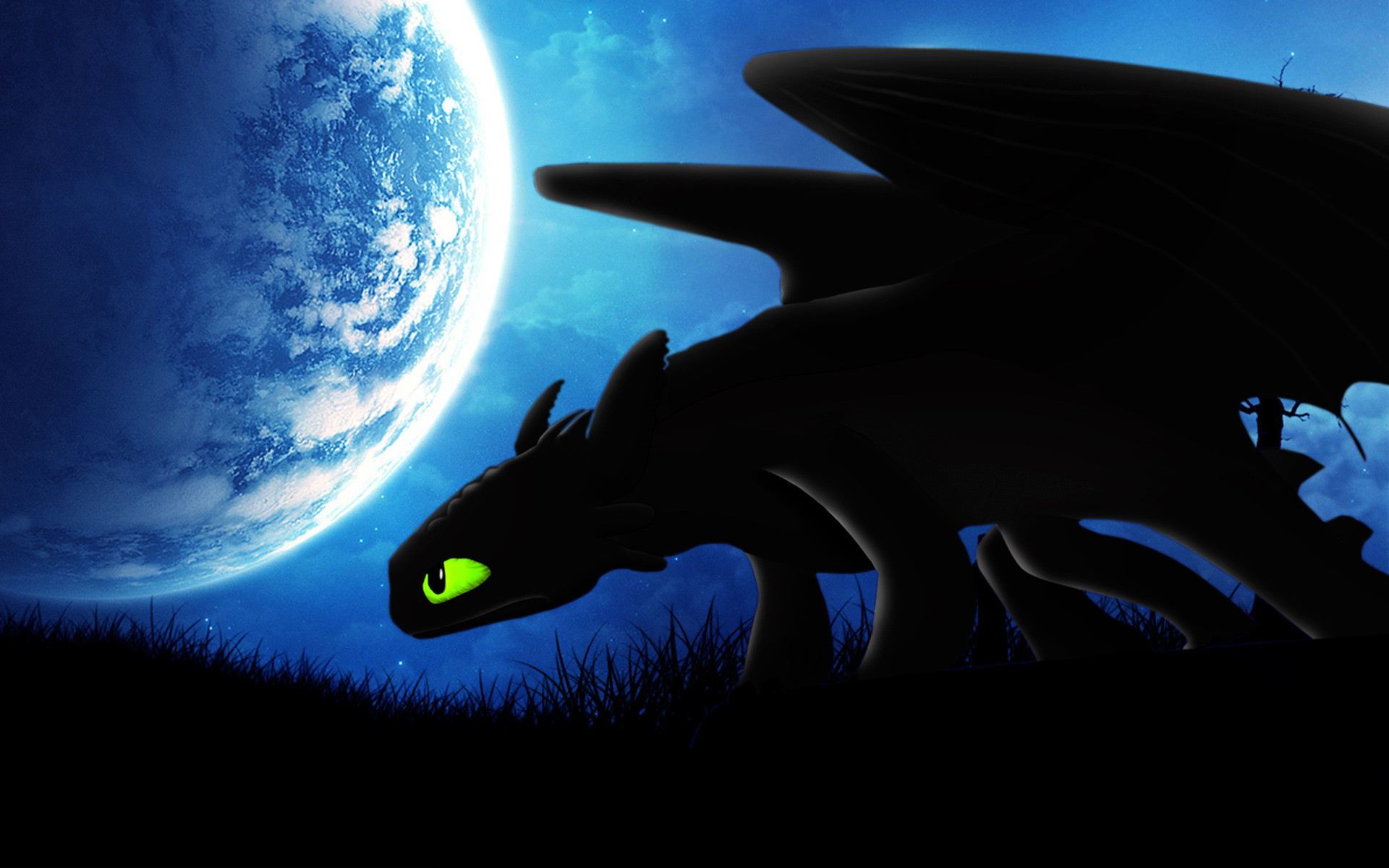 Res: 1920x1200, Nightfury Toothless, How to Train Your Dragon 2 Character Wallpapers