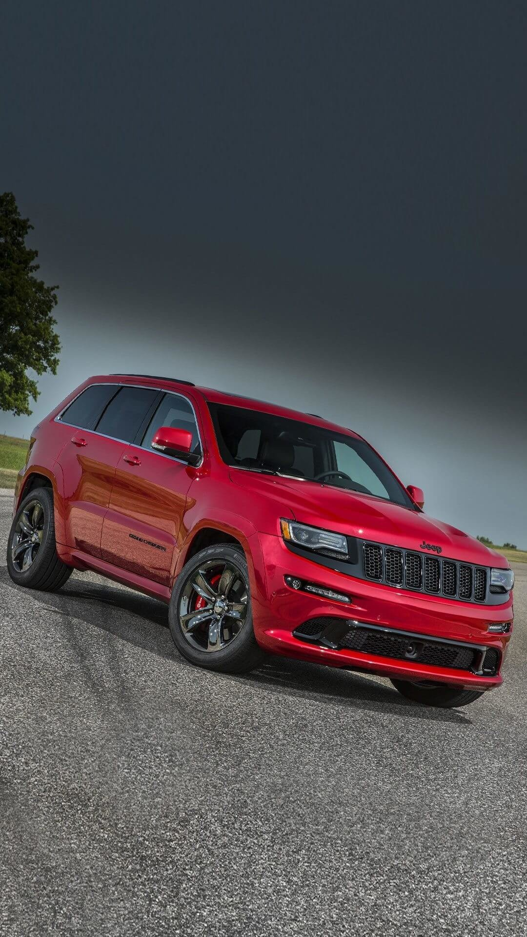 Res: 1080x1920, 2017 Jeep Grand Cherokee Wallpaper For iPhone 6 - HD Wallpaper iPhone