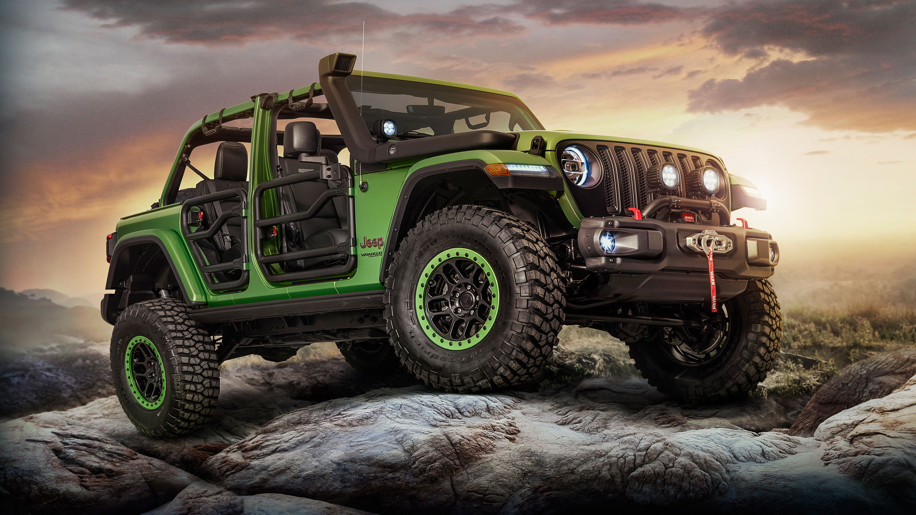 Res: 3000x1688, 2018 Jeep Wrangler Unlimited Rubicon Moparized