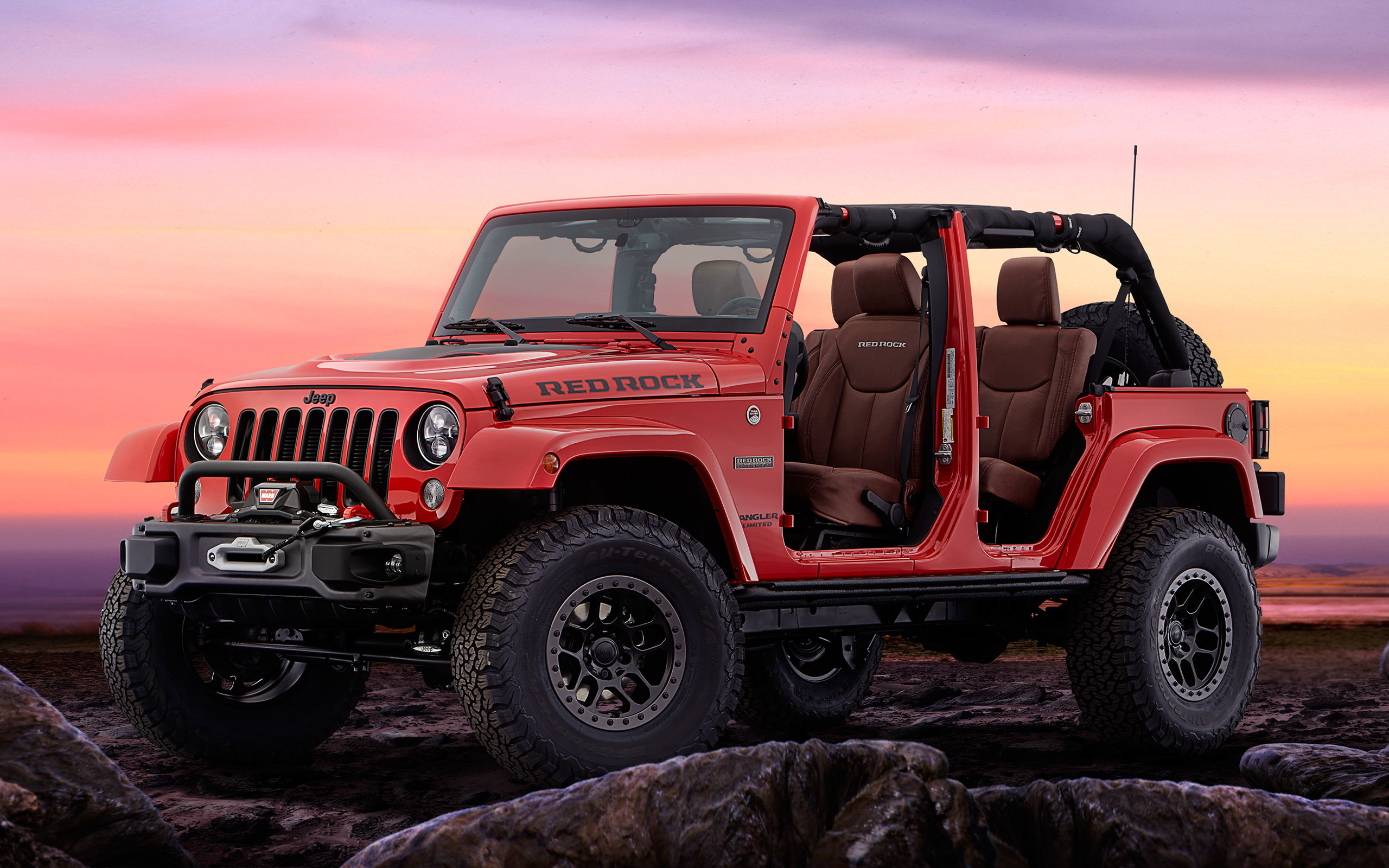 Res: 2560x1600, Jeep Wrangler Red Rock Concept Wallpaper