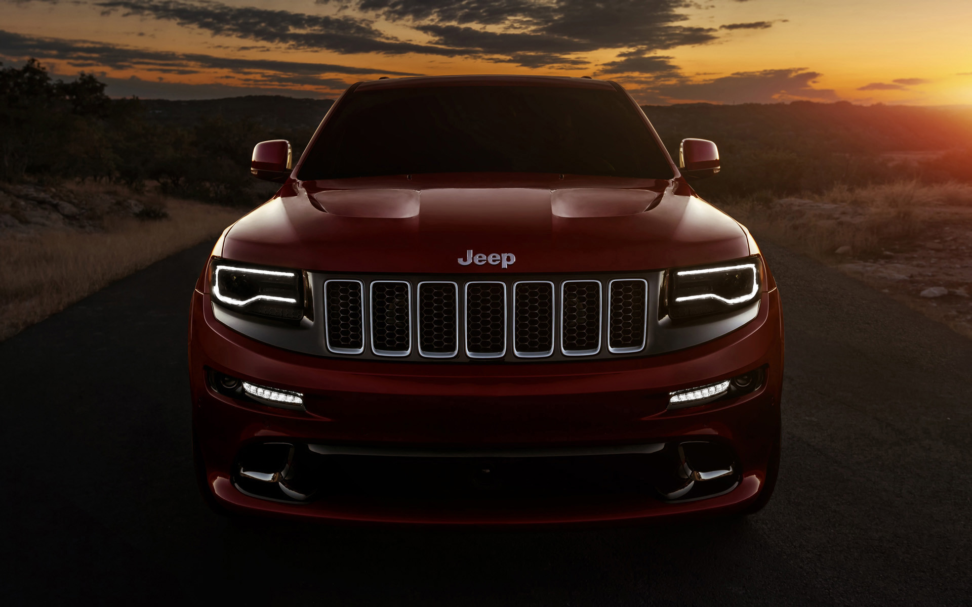 Res: 1920x1200, 2014 Jeep Grand Cherokee SRT
