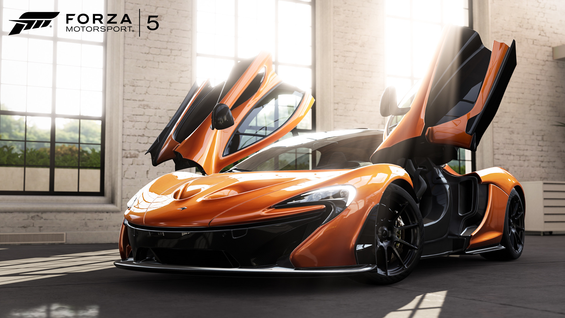 Res: 1920x1080, Froza 5 McLaren P1