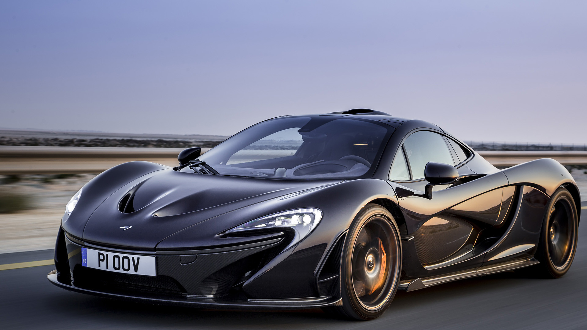 Res: 1920x1080, McLaren P1 Wallpaper Black