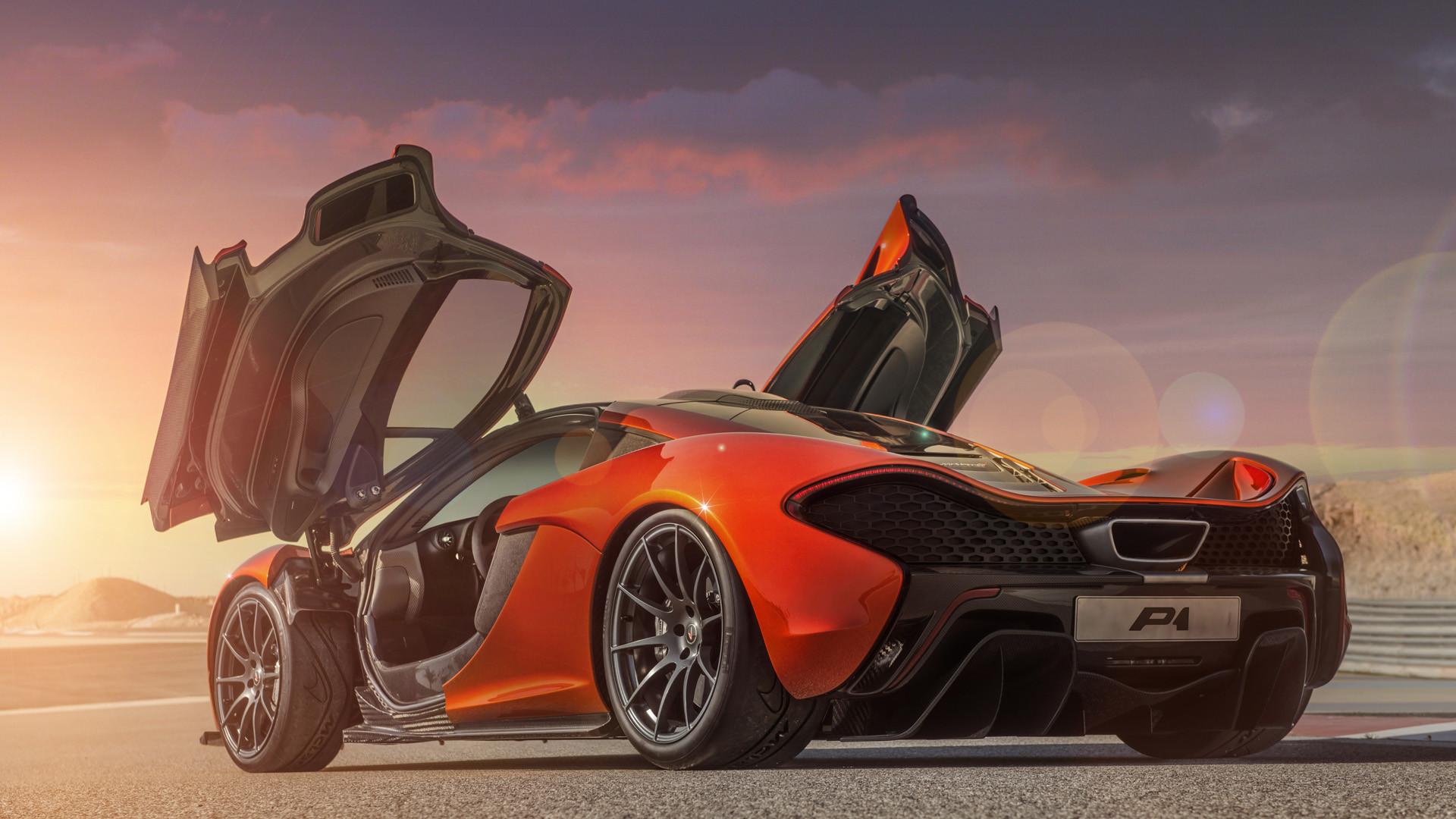 Res: 1920x1080, McLarenP1-orange-door-open-HD-Wallpaper004