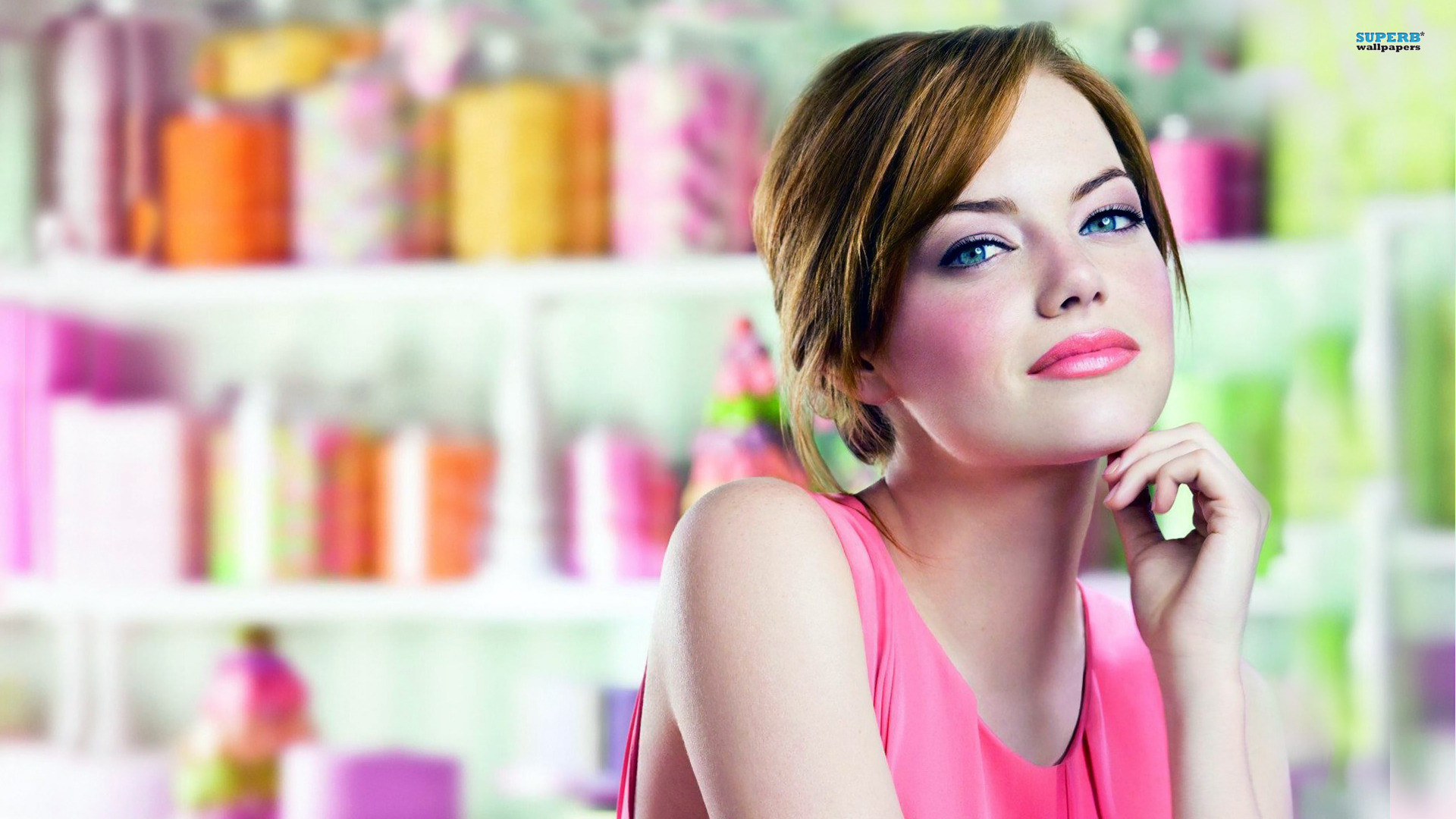 Res: 1920x1080, Hot And Gorgeous Emma Stone Full HD Wallpapers 1080p