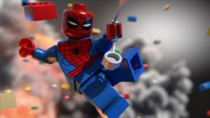 Lego Spiderman wallpapers