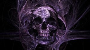 Purple Skull wallpapers