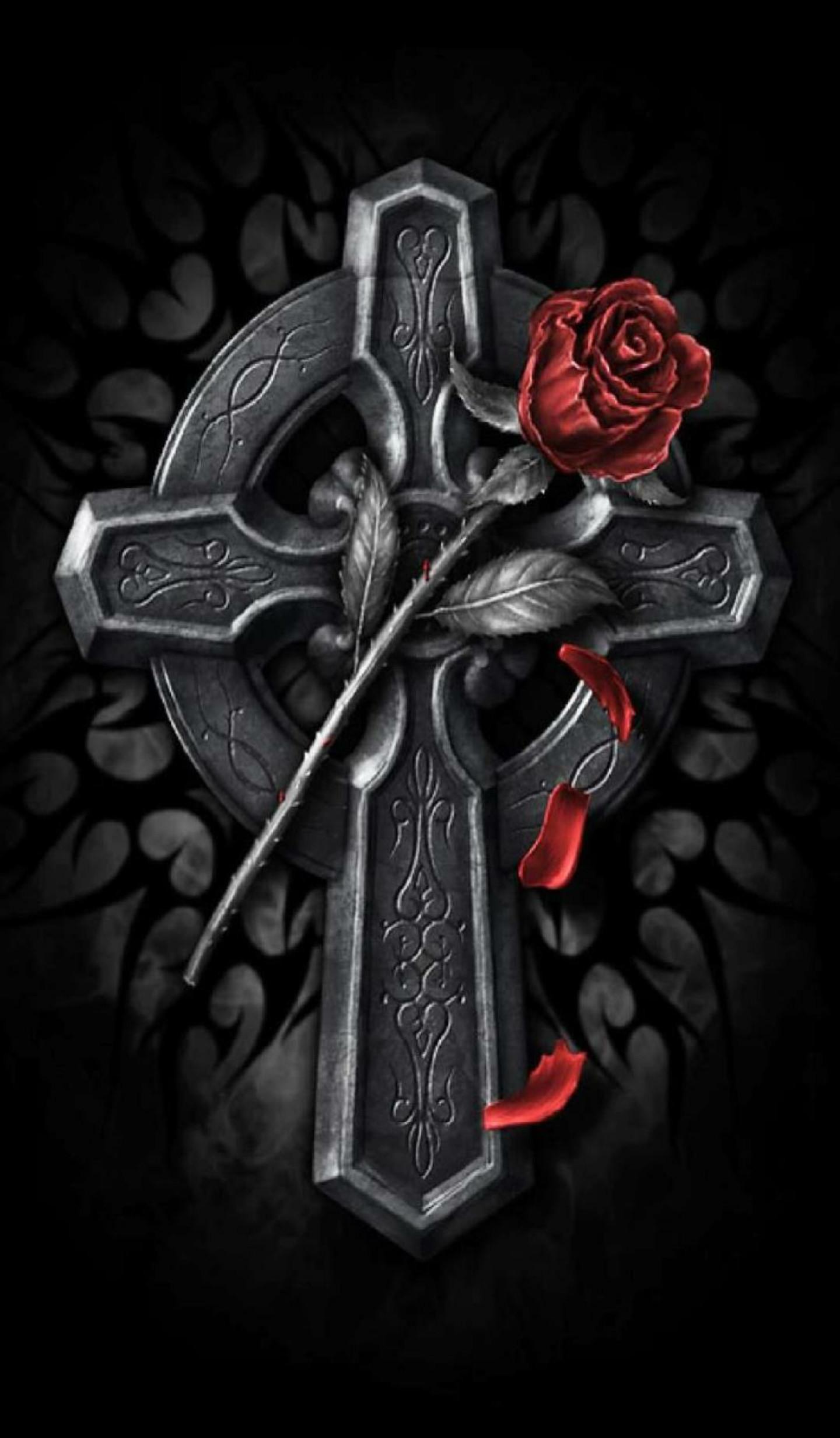 Res: 1440x2464, Dark Rose