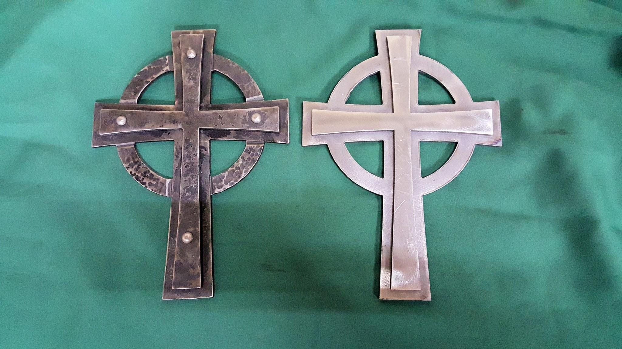 Res: 2048x1152, Celtic Cross Project, Blacksmithing- Ken's Custom Iron Store, www.